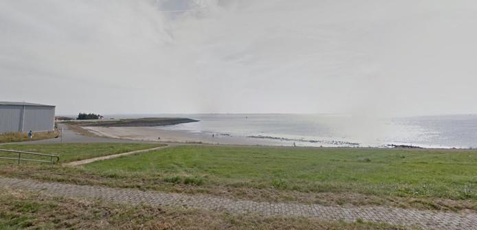 Het strandje bij Hansweert