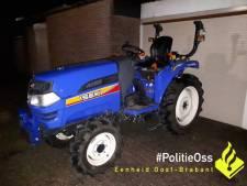 Tractor kort na diefstal gevonden in garagebox in Oss