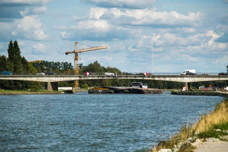 In 2019 zal de oude brug over het Albertkanaal worden afgebroken.