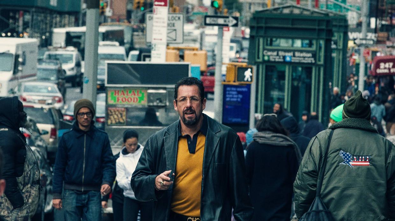 Adam Sandler in Uncut Gems (2019). Beeld