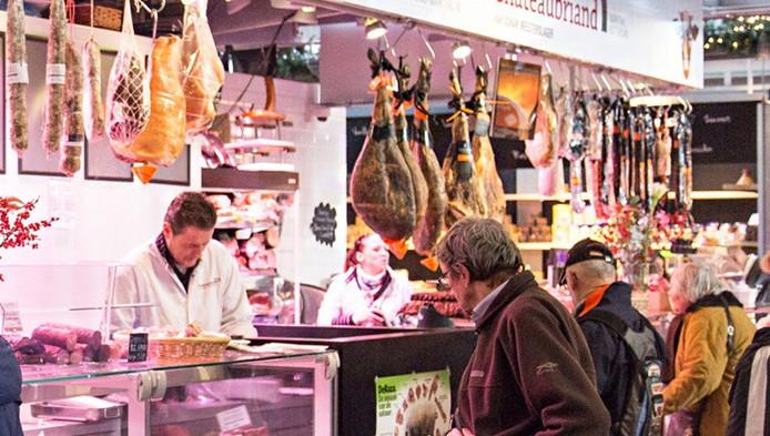 Chateaubriand in de Markthal. Inmiddels is de kwaliteitsslagerij gesloten.