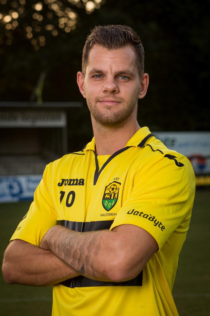 Jordi Nijs van RKSV Halsteren (foto: RKSV Halsteren)