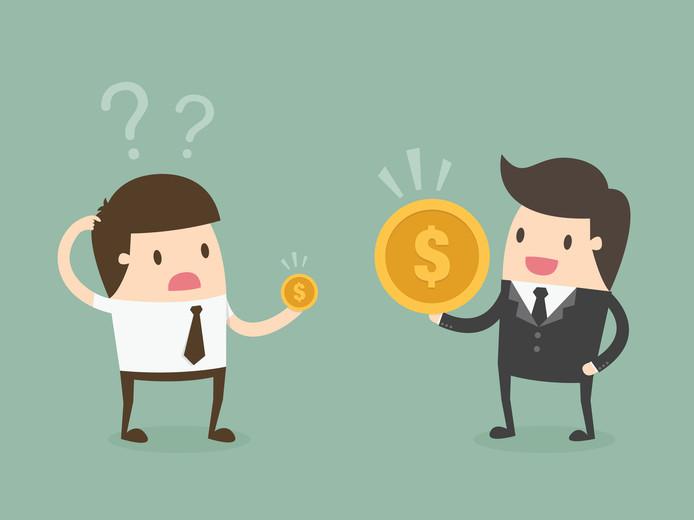 En 2017, le salaire moyen brut en Belgique était de 3.558 euros