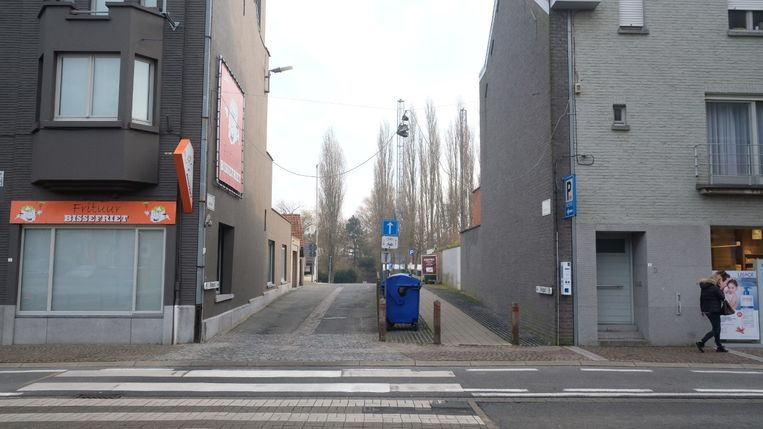 De toegang van de parking Rietput in de Driekerkenstraat gaat vanaf maart dicht.