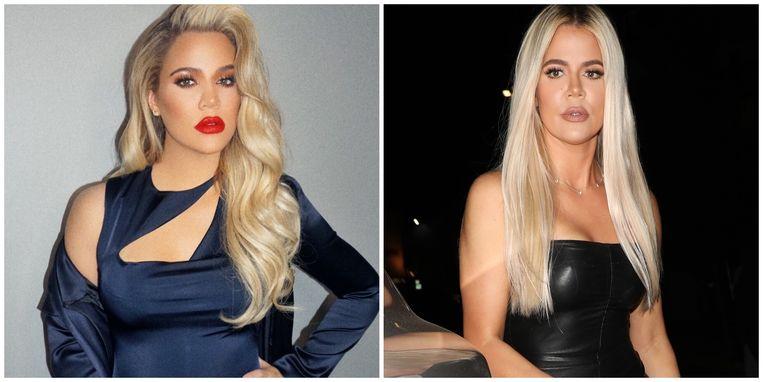 Khloe Kardashian tijdens en na haar zwangerschap.