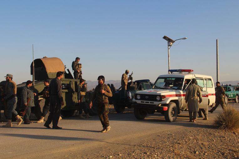 Afghaanse veiligheidsdiensten