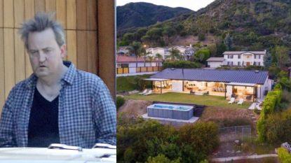 BINNENKIJKEN. In deze villa wil 'Friends'-ster Matthew Perry tot rust komen na zware periode