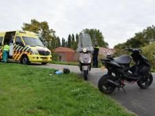 Twee scooters botsen in Arnhem: één gewonde