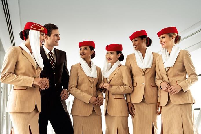 Luchtvaartmaatschappij Emirates houdt een speciale wervingsdag in Amsterdam.