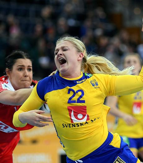 Zweedse vrouwen in halve finale tegen Frankrijk
