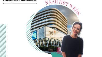 'De eerste keer na corona': redactrice Nele (29) gaat opnieuw naar het werk en dat maakt haar enorm angstig