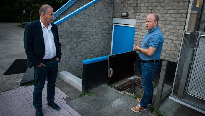 De voorzitters van sportpark Oostzanerwerf