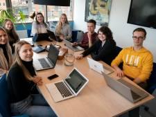 Leren kan overal en dat gaat een groep studenten van Helicon ook doen dwars door Europa