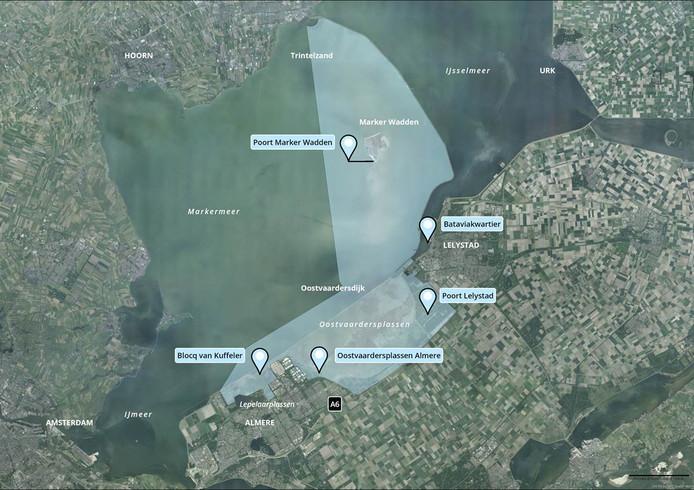 Het nieuwe nationale park Nieuw Land in Flevoland.
