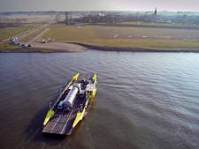 Stakingen hebben Maasveren ruim 1,5 ton gekost