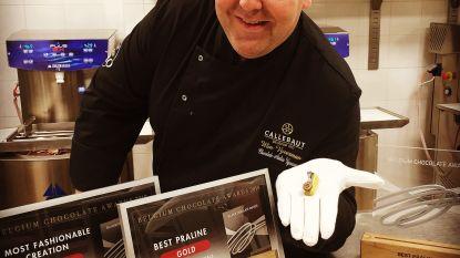 Sint-Niklase chocolatier maakt beste praline van 2019: Wim Vyverman pakt twee keer goud op Belgian Chocolate Awards