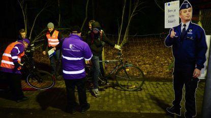 Politie betrapt dronken fietser