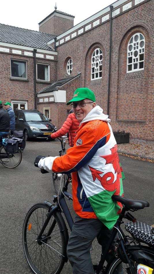 Taff Williams, een Bosschenaar uit Wales tijdens de bevrijdingstocht van Vinkel naar Den Bosch.