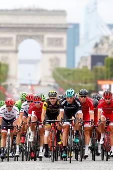 De mooiste foto's van de slotetappe in de Tour de France