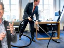 Over stofzuigende mannen en de losse flodders van  burgemeester Hellegers