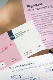 Aantal orgaandonoren licht gestegen