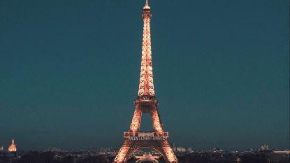 Kogelvrije glazen muur rond Eiffeltoren tegen terreuraanvallen