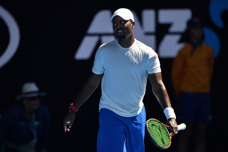 Donald Young verloor op de Australian Open van Novak Djokovic.