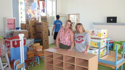 Nieuwe gemeenteschool klaar voor gebruik: vrijdag verhuis, zaterdag inrichten, zondag opening en maandag school