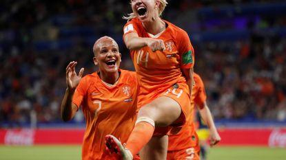 Vrouw die Nederland naar WK-finale knalde, wilde paar jaar geleden nog voor Red Flames spelen