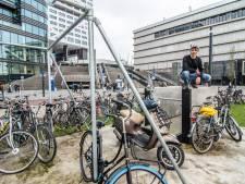 Bordjes moeten einde maken aan fietsenchaos in park voor freerunners op Jaarbeursplein