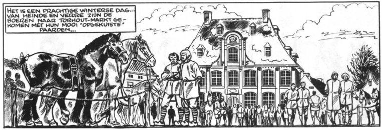 De Torhoutse paardenmarkt.