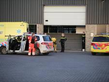 Man valt van stelling bij kassencomplex Made, traumahelikopter ter plaatse