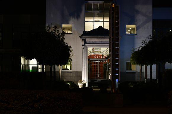 Het bankkantoor van BNP Paribas Fortis in Stabroek.