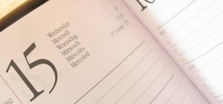 Ineens vond ik mijn agenda maar een veeleisend ding