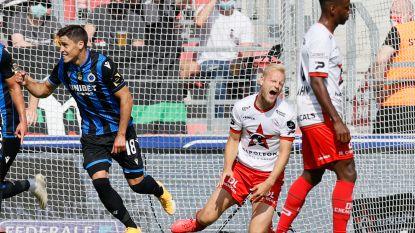 LIVE. Club Brugge héél efficiënt in Waregem: na own-goal Deschacht trapt Krmencik raak en kopt Vanaken binnen