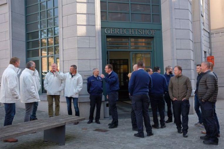 Op 19 april 2017 voerde de politiezone  Bilzen Hoeselt Riemst nog actie tegen zinloos geweld voor de rechtbank Tongeren naar aanleiding van het voorval met hun collega.