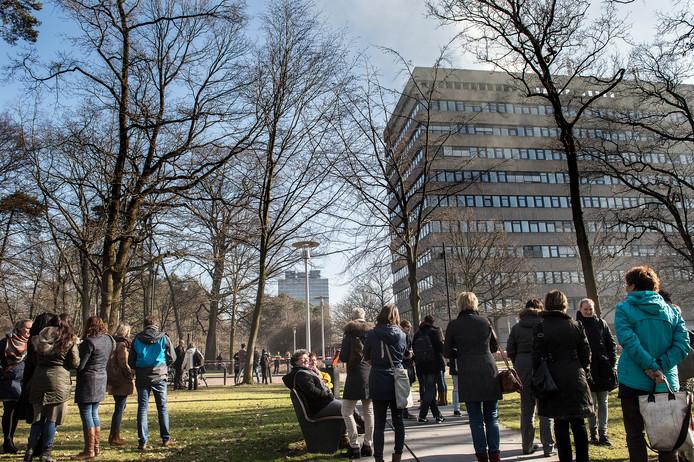 De campus van de Nijmeegse Radboud Universiteit