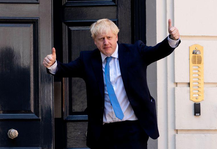 Boris Johnson is de nieuwe premier van het Verenigd Koninkrijk. Beeld AFP