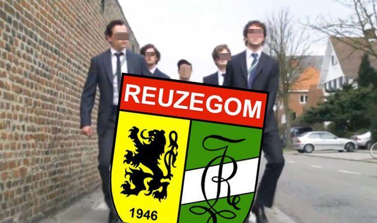Het wapen van de gewezen Leuvense studentenclub. Beeld Het Laatste Nieuws