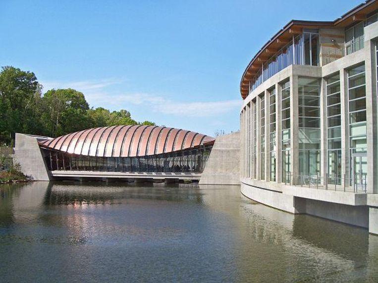 Het Crystal Bridges Museum of American Art.