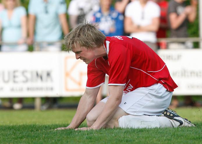 Wietse Kämink bereikte met AZSV 2 de volgende bekerronde.