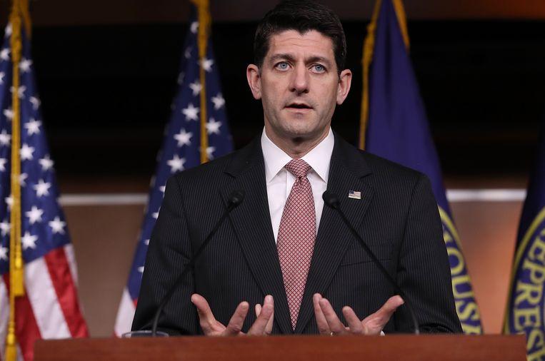 Voorzitter van het Huis van Afgevaardigden Paul Ryan