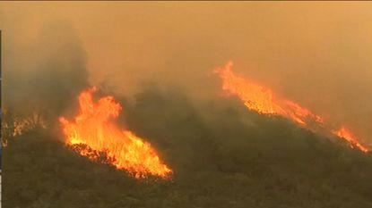 1 dode bij bosbrand in California
