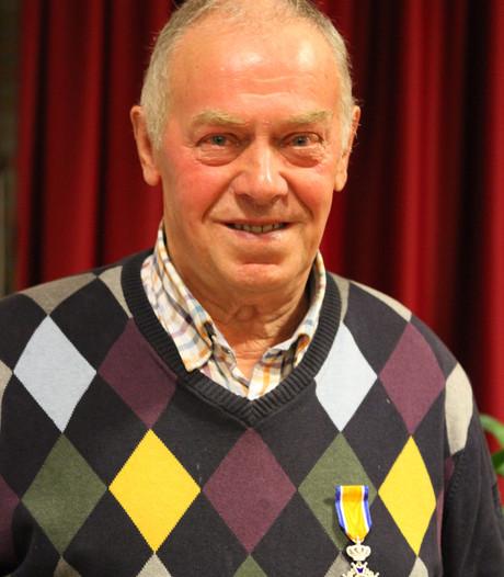 Koninklijke onderscheiding voor Harrie van Beers uit Oerle