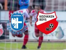 Kozakken Boys wint met man minder van SV Spakenburg