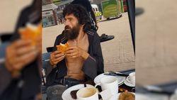 """Dakloze man krijgt lunch betaald door barmhartige Samaritaan, Starbucks wil hem wegjagen: """"Hij is toch een mens?"""""""
