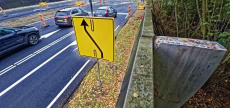 Kunstwerk 'Poort van Oosterhout' op Bovensteweg  gehalveerd