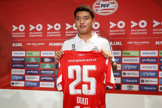 Ritsu Doan kan zaterdagavond debuteren voor PSV.
