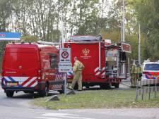 Vrachtwagen verliest chemische stof op N69 bij Bergeijk richting België