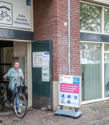 Fietsenstalling Pletterstraat Zwolle toch weer open, twee dagen per week